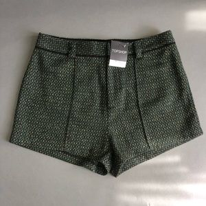 TOPSHOP Shorts green NWT